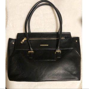 BCBGeneration Black Leather Bag